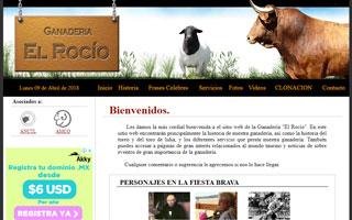 Desarrollo Web ganaderiaelrocio.mx